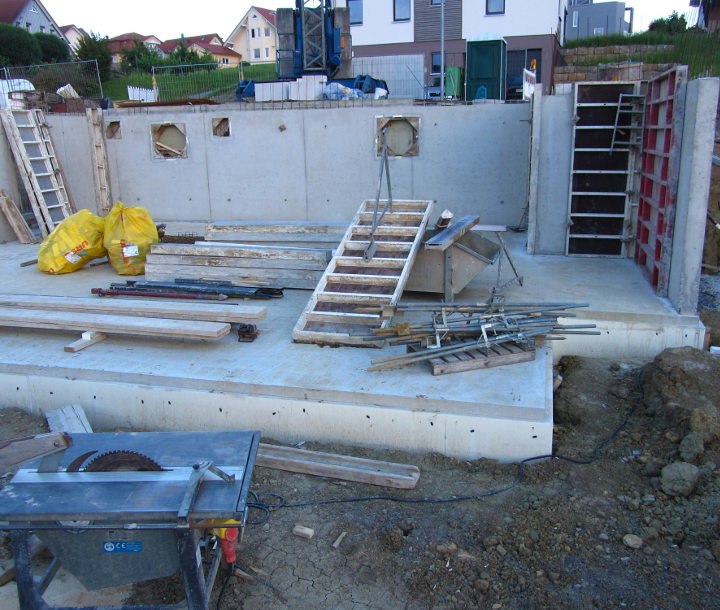 Estrich In Keller Und Garage Fix Fertig Haus: Kellerwände